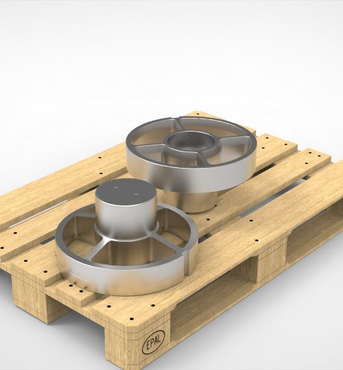 front bearing on pallet.59